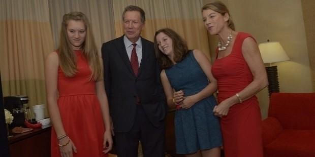 john kasich family