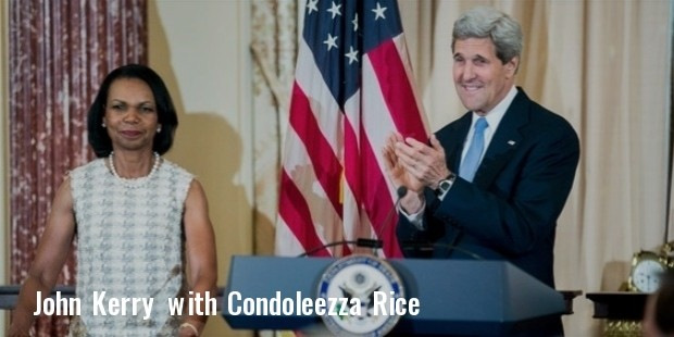 john kerry, condoleezza rice