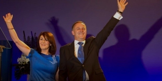 john key and wife bronagh key