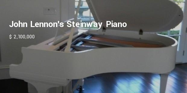 john lennons steinway piano