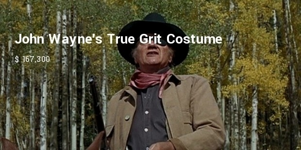 john waynes true grit costume