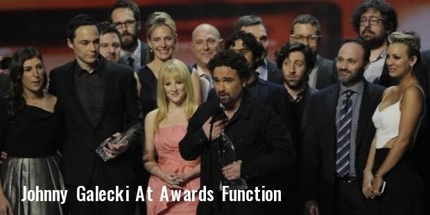 johnny galecki at awards