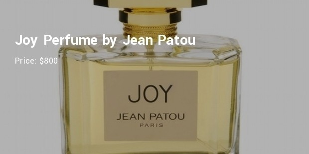 joy perfume by jean patou