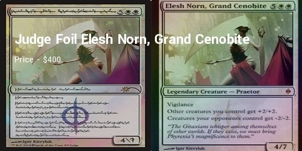 judge foil elesh norn