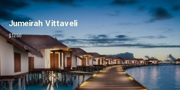 jumeirah vittaveli resort maldives