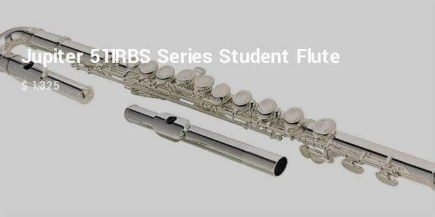 jupiter 511rbs series student flute with b foot