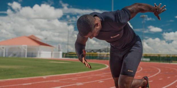 justin gatlin work out