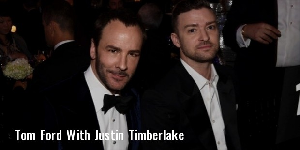 justin timberlake, tom ford