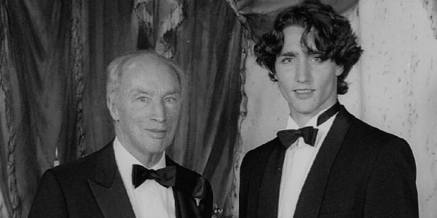 justin trudeau early life
