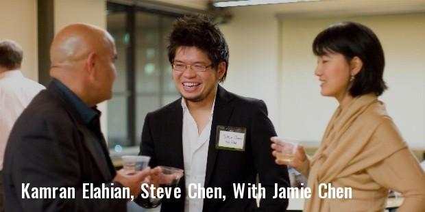 kamran elahian, steve chen, and jamie chen