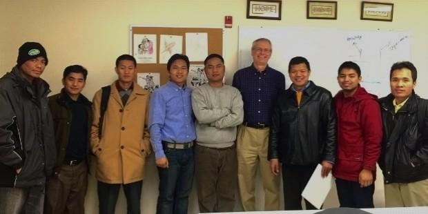 karl with burmese students1 e1450722624520