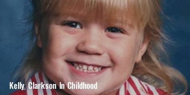 kelly clarkson in childhood
