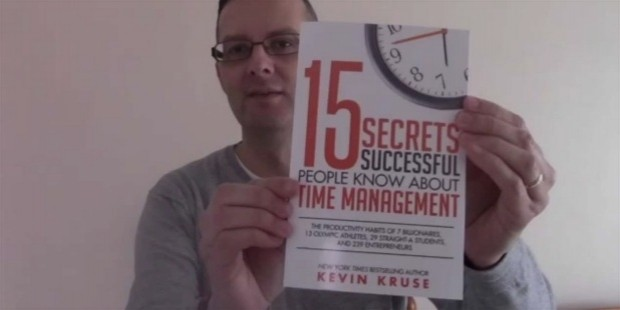 kevin kruse time management book