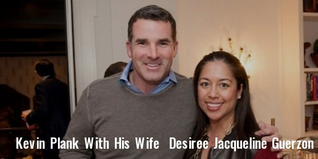 kevin plank with desiree jacqueline