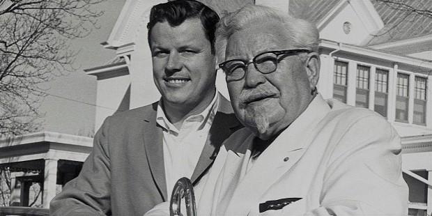 kfc founder sanders colonel