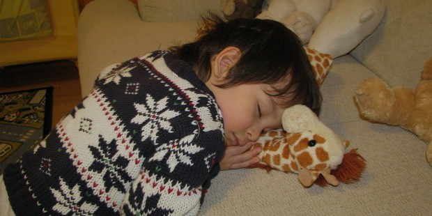 kids sleep and break time