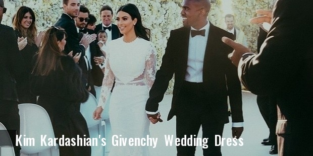 kim wedding dress