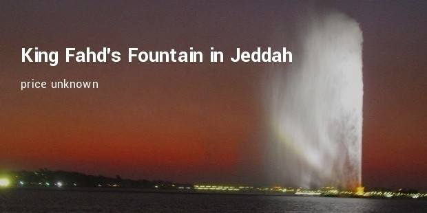 king fahd s fountain in jeddah
