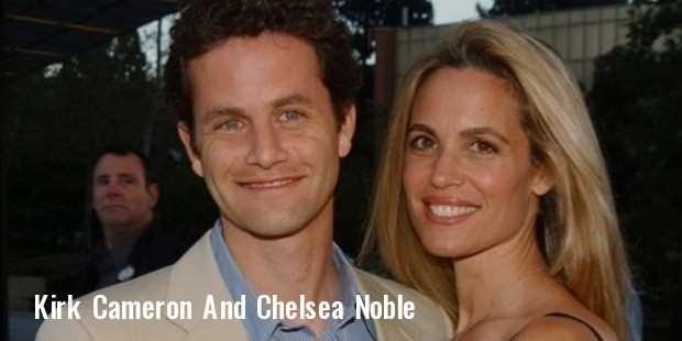kirk cameron and chelsea noble