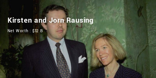 kirsten and jorn rausing net worth