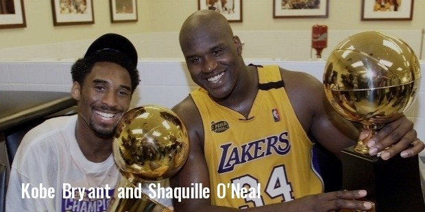 kobe bryant shaquille oneal