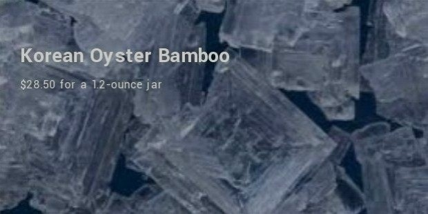 Korean Oyster Bamboo