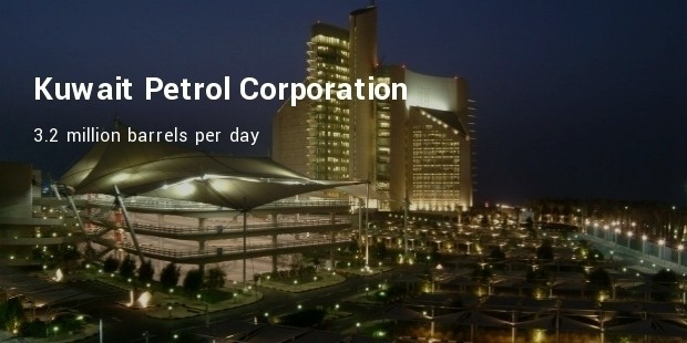 kuwait petrol corporation