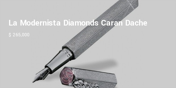 la modernista diamonds caran dache