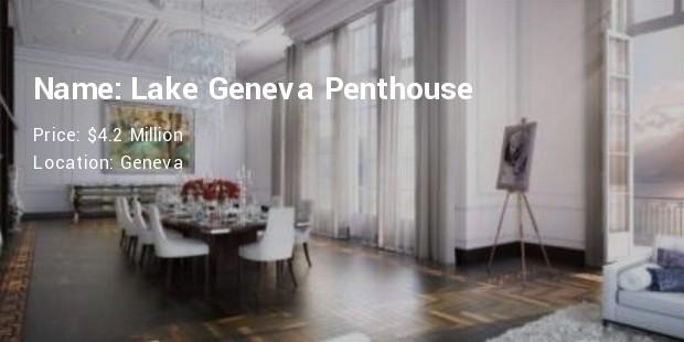 Lake Geneva Penthouse