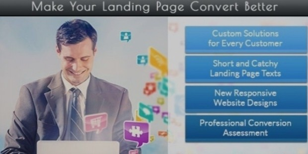 landing page services copywriting agency