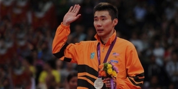 lee chong silver medal