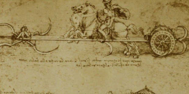 leonardo da vinci military inventions sketches
