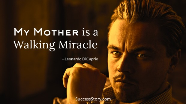 leonardo on mother