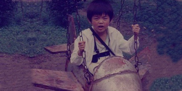 lin dan childhood photo