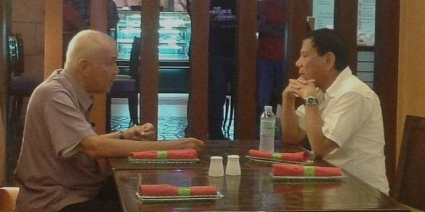 lito osmea meets davao mayor rodrigo duterte at the waterfront hotel