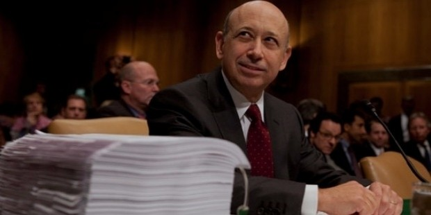 lloyd blankfein, the ceo of goldman sachs, testifies before a senate subcommittee