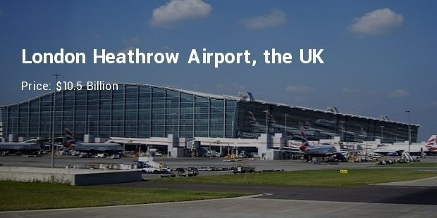 london heathrow airport, the uk