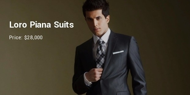 10 Most Expensive Designer Men's Suits | SuccessStory