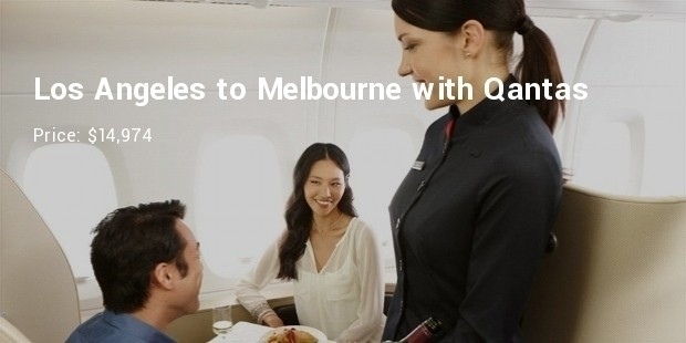 los angeles to melbournewith qantas, starting at $14,974