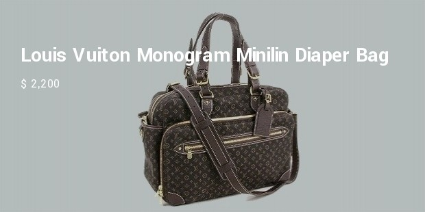 louis vuitton monogram mini lin diaper bag