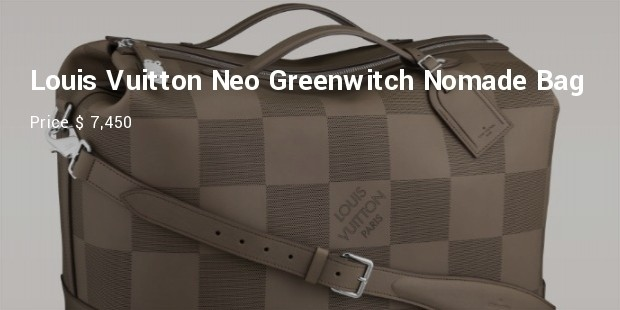louis vuitton neo greenwich nomade grand damier bag