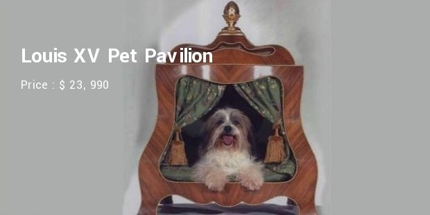louis xv pet pavilion
