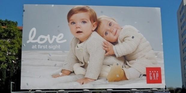 love babygap billboard