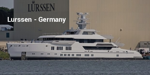 lrssen yacht green launching