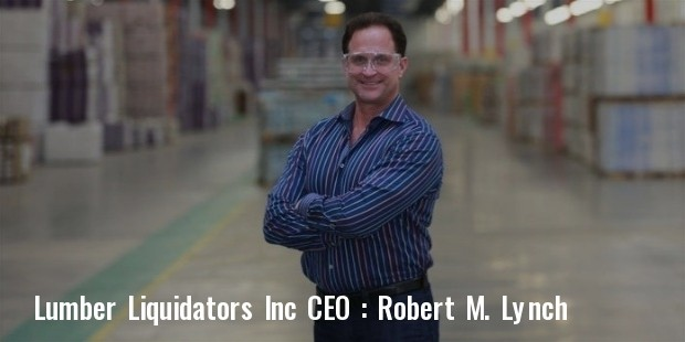 lumber liquidators inc robert m