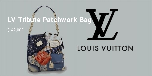 lv tribute patchwork bag