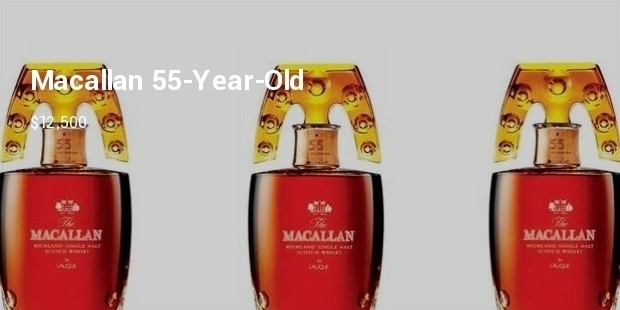 macallan 55 year old 12500