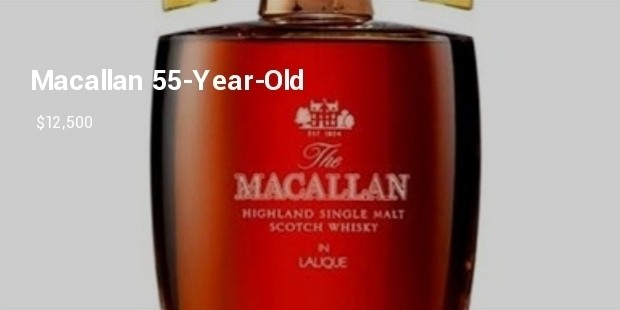 macallan 55 year old scotch whisky