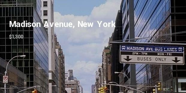 madison avenue new york