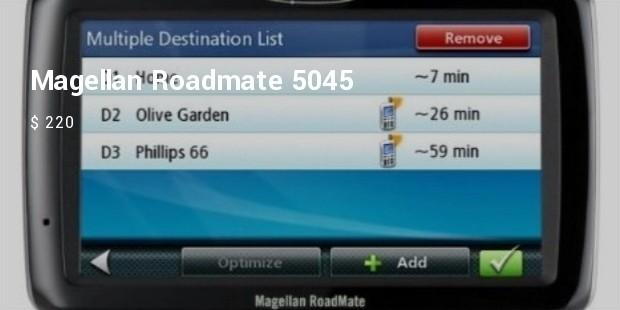 magellan roadmate 5045